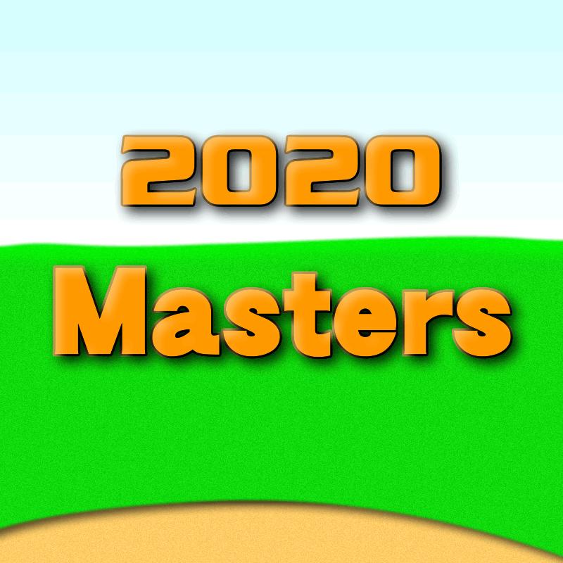 2020年マスターズ